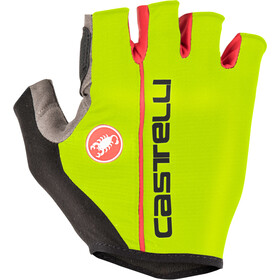 Castelli Circuito Gloves yellow fluo/red
